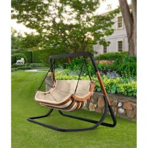 podwojny fotel alpha bezowy bujak ogrodowy 300x300 - Doppelhängesessel Alpha ohne Ständer